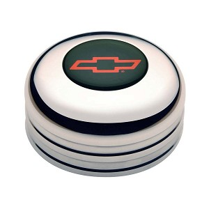 11-1022 Gt Performance GT3 Horn Button Chevy Bow Tie Red
